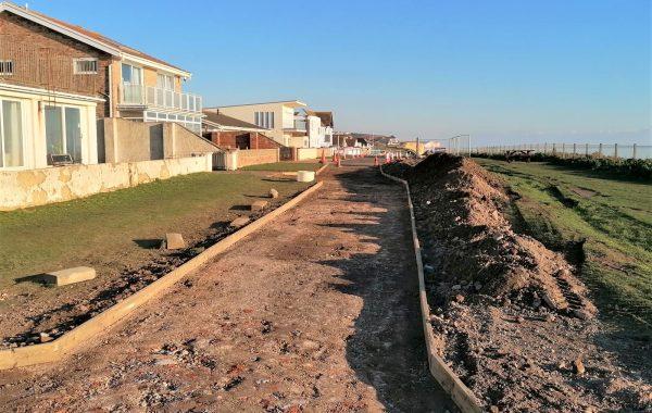 Environmentally-friendly road resurfacing, Brighton